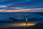 The promenade by the Sea - Varberg
